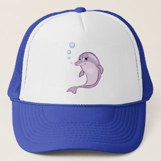 Cute Dolphin Trucker Hat