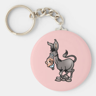 Cute Donkey Key Ring