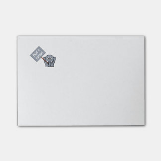Cute Don't Forget Elephant Post-It-Notes Post-it Notes