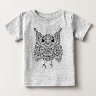 Cute Doodle Owl Baby T-Shirt