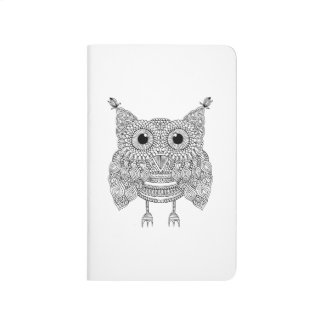 Cute Doodle Owl Journal