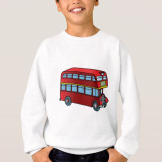 Cute Double Decker Bus Sweatshirt