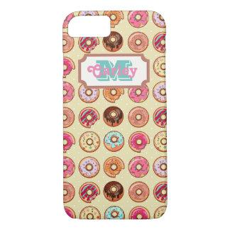 Cute Doughnut Pattern iPhone 8/7 Case