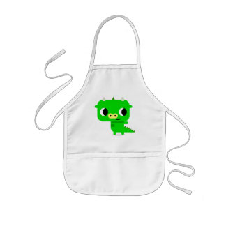 Cute Dragon Apron for Kids