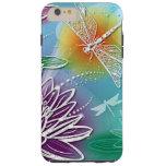 Cute Dragon Fly Pretty Summer Colours Modern Tough iPhone 6 Plus Case