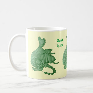 cute dragon mythical and fantasy creature art coffee mug