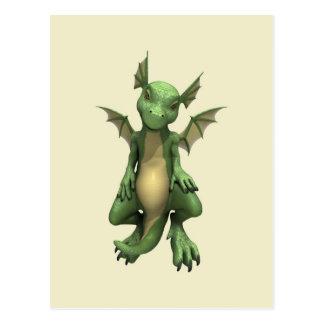 Cute Dragon Postcard