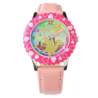 Cute Dragon with customizable Name Alyssa Watch