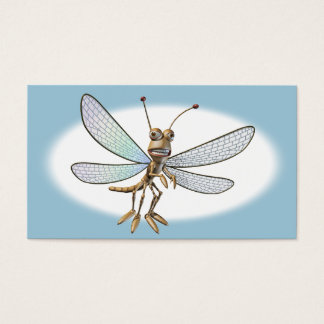 Cute Dragonfly Business Card