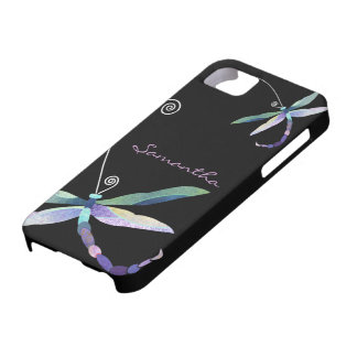 Cute Dragonfly iPhone 5 Case-Mate Barely There iPhone 5 Case