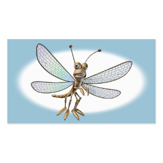 Cute Dragonfly Pack Of Standard Business Cards