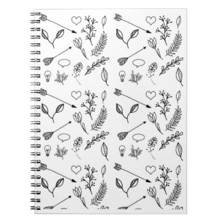 Cute Drawing Design Notebook Diary Journal