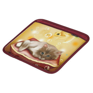 Cute Dream Kitten ipad case