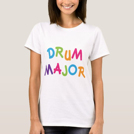 Cute Drum Major Toon T-Shirt