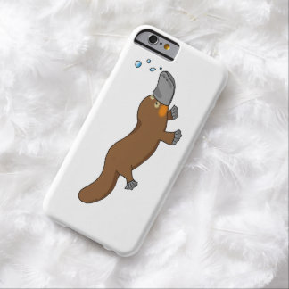 cute duck billed platypus barely there iPhone 6 case