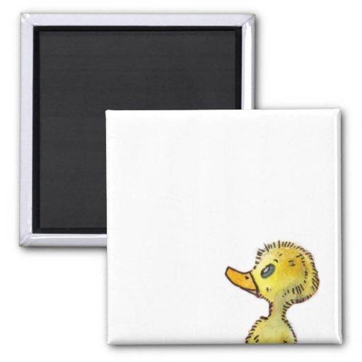 Cute Duck Customizable Magnet