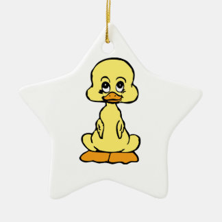Cute Duckling/Baby Duck Christmas Ornament