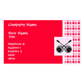 Cute Dueling Banjos Business Card