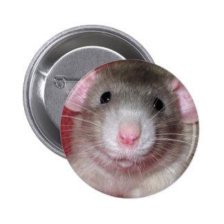 Cute Dumbo Rat 6 Cm Round Badge