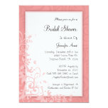 Cute Dusty Rose PINK Bridal Shower Invite