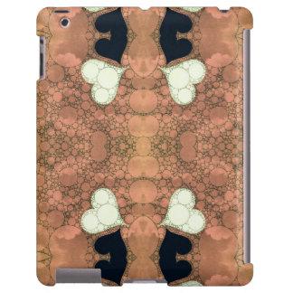 Cute Earthy Heart Abstract iPad Case
