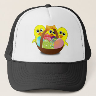 Cute Easter Bunnies Trucker Hat