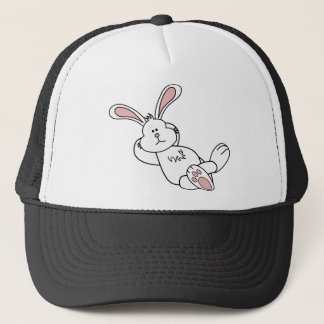 Cute Easter Bunny Chilling out Trucker Hat