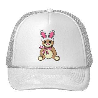 Cute Easter Bunny Ears Teddy Bear Cap
