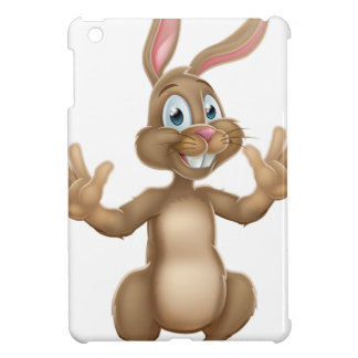 Cute Easter Bunny Rabbit Waving Cover For The iPad Mini