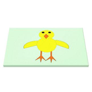 Cute Easter Chick Canvas Pri