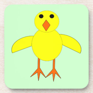 Cute Easter Chick Coaster