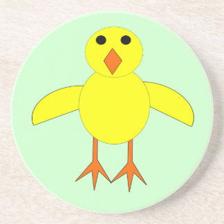 Cute Easter Chick Coasters