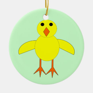 Cute Easter Chick Customizable Ornament