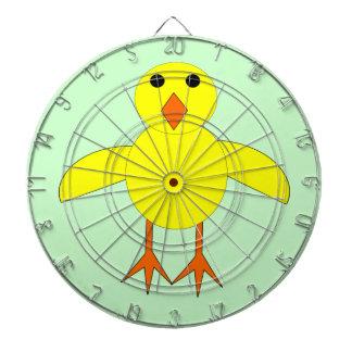 Cute Easter Chick Dart Board