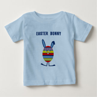 Cute Easter egg bunny blue Baby T-Shirt