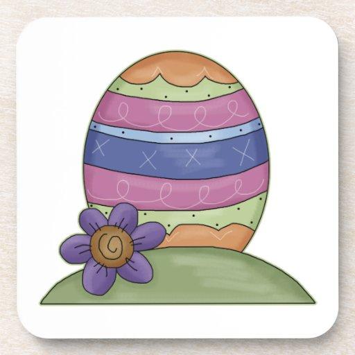 Cute Easter Egg Drink Coaster
