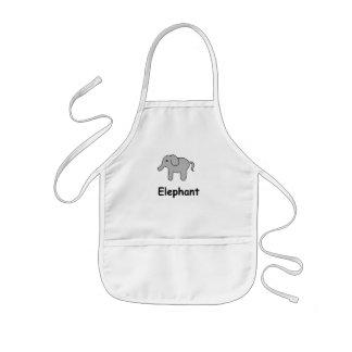 Cute Elephant Kids' Apron