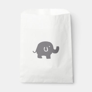 Cute Elephant Baby Shower Favor Bags Favour Bags