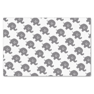 Cute Elephant Baby Shower Gift Tissue Paper
