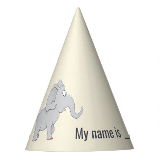 Cute Elephant | Baby Shower To Honor the New Mom Party Hat