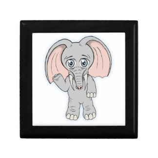 cute elephant gift box