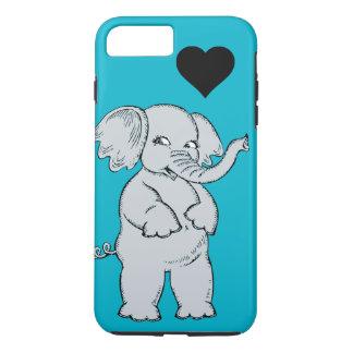 Cute Elephant iPhone 8 Plus/7 Plus Case