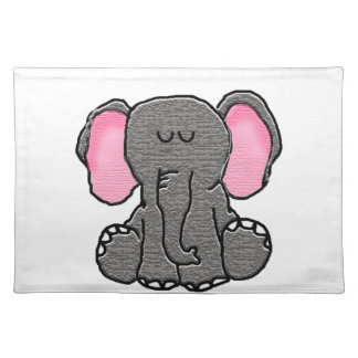 Cute Elephant Placemat