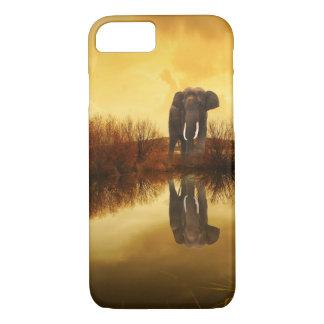 Cute Elephant Reflection Case