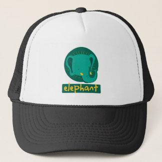 cute elephant trucker hat