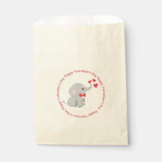 Cute Elephant Valentine Favour Bags