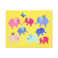 ELEPHANTS KIDS CANVAS