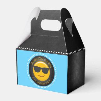 Cute Emoji Birthday Party Favour Box