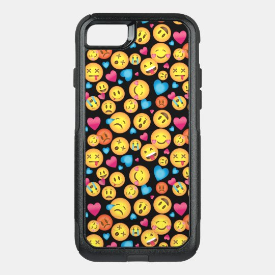 Cute Emoji Print Otter Box case
