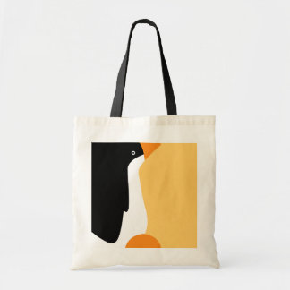 Cute Emperor Penguin Cartoon Crafts & Shopping Bag